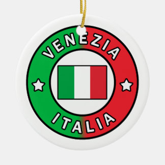 Ornamento De Cerâmica Venezia Italia