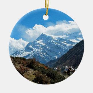 Ornamento De Cerâmica Verão do viagem de Himalaya Monte Everest India