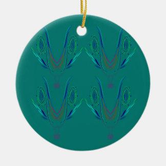 Ornamento De Cerâmica Verde do nordic dos elementos do design