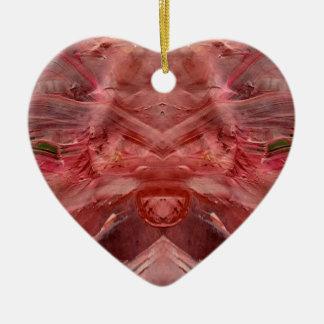 Ornamento De Cerâmica vermelho
