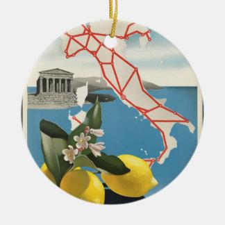 Ornamento De Cerâmica Viagens vintage Italia