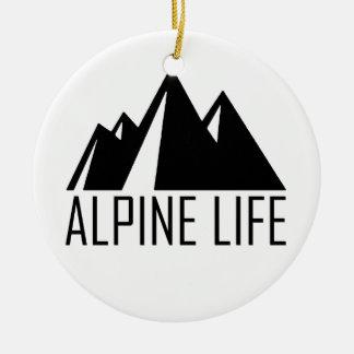 Ornamento De Cerâmica Vida alpina