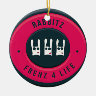Ornamento De Cerâmica Vida de Rabbitz - de Frenz 4!