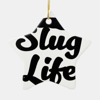 Ornamento De Cerâmica Vida do Slug