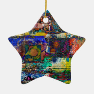 Ornamento De Cerâmica Vida na cor completa