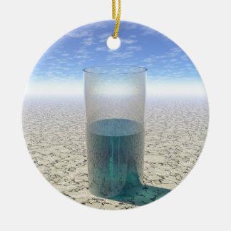 Ornamento De Cerâmica Vidro da água