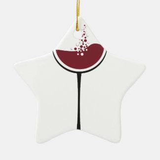 Ornamento De Cerâmica Vidro de vinho