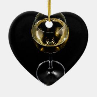 Ornamento De Cerâmica vidro do champanhe