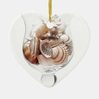 Ornamento De Cerâmica Vidro do mar