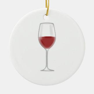 Ornamento De Cerâmica Vidro do vinho