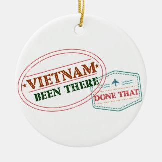 Ornamento De Cerâmica Vietnam feito lá isso