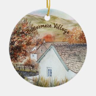 Ornamento De Cerâmica Vila de Buttermere, distrito do lago, Inglaterra