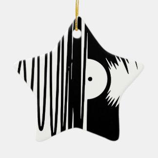 Ornamento De Cerâmica vinil da música
