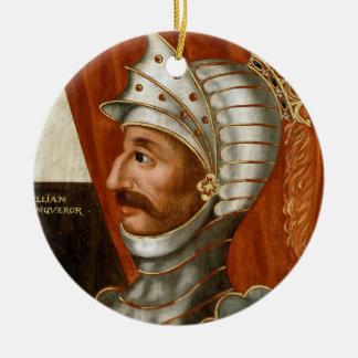 Ornamento De Cerâmica Vintage William a pintura do conquistador