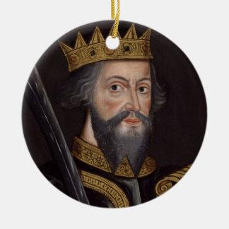 Ornamento De Cerâmica Vintage William o retrato do conquistador