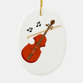 Ornamento De Cerâmica Violino Violine de Geige
