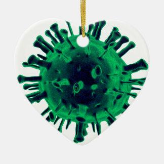 Ornamento De Cerâmica Vírus