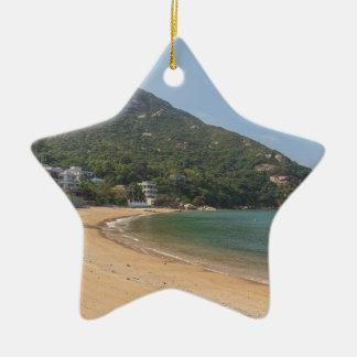 Ornamento De Cerâmica Vista panorâmica da ilha macilento de Sok Kwu