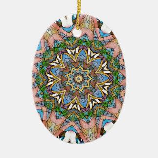 Ornamento De Cerâmica Vitral artístico Pastel legal bonito