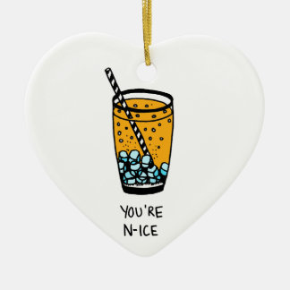 Ornamento De Cerâmica Você é agradável