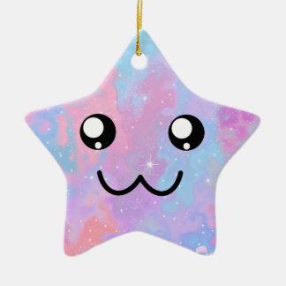 Ornamento De Cerâmica Você é assim cara bonito mágica Pastel de Kawaii