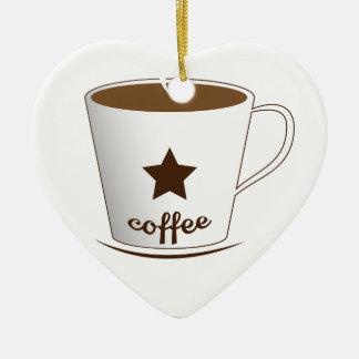 Ornamento De Cerâmica Você quer um café