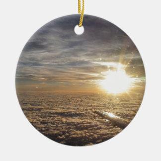 Ornamento De Cerâmica voe os céus celestiais