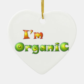 Ornamento De Cerâmica Volenissa - eu sou orgânico