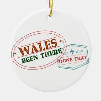Ornamento De Cerâmica Wales feito lá isso