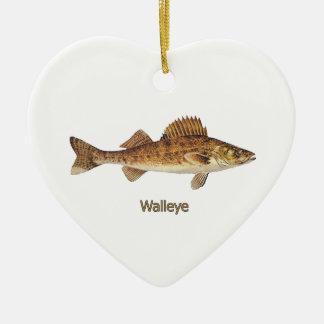 Ornamento De Cerâmica Walleye (grandes lagos)