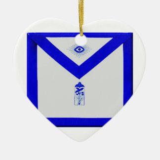 Ornamento De Cerâmica Warden júnior maçónico Avental