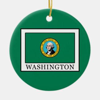 Ornamento De Cerâmica Washington