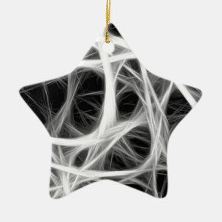 Ornamento De Cerâmica weave do fio