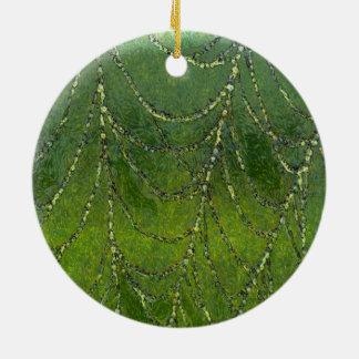 Ornamento De Cerâmica Web de aranhas