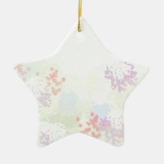 Ornamento De Cerâmica Wildflowers