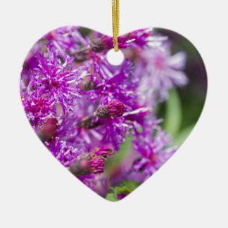 Ornamento De Cerâmica Wildflowers altos do Ironweed