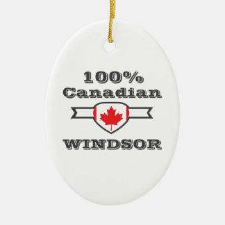 Ornamento De Cerâmica Windsor 100%