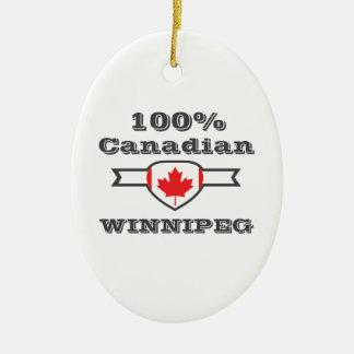 Ornamento De Cerâmica Winnipeg 100%