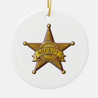 Ornamento De Cerâmica Xerife