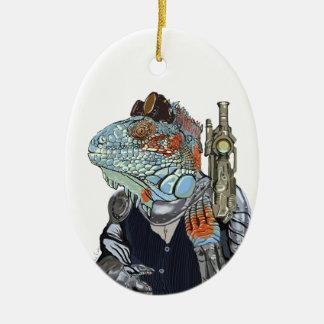 Ornamento De Cerâmica Xerife do dragão do vapor