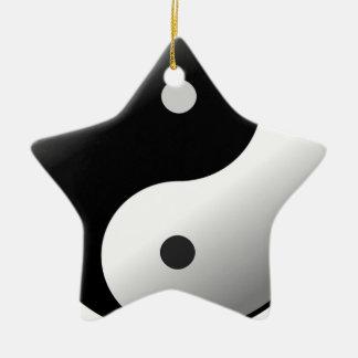 Ornamento De Cerâmica Yin Yang
