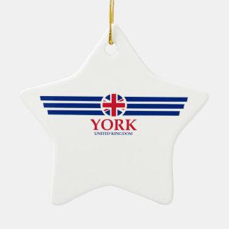 Ornamento De Cerâmica York