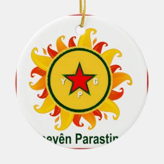 Ornamento De Cerâmica ypg - sol