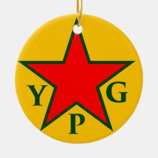 Ornamento De Cerâmica ypg-ypj aa