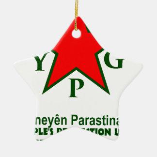 Ornamento De Cerâmica ypg-ypj - kobani do apoio - claro