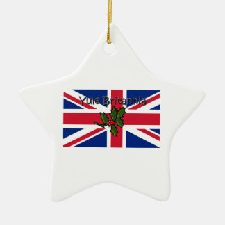 Ornamento De Cerâmica Yule Britannia