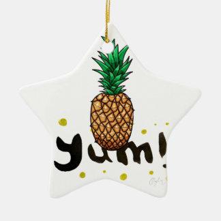 Ornamento De Cerâmica yum_ananasli