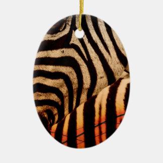Ornamento De Cerâmica zebra