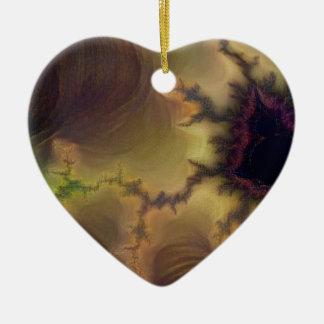 Ornamento De Cerâmica Zumbido de da Vinci Mandelbrot