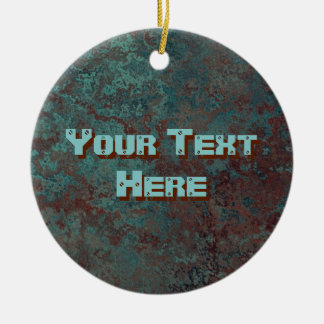 """Ornamento """"de cobre"""" do texto do impressão da"""